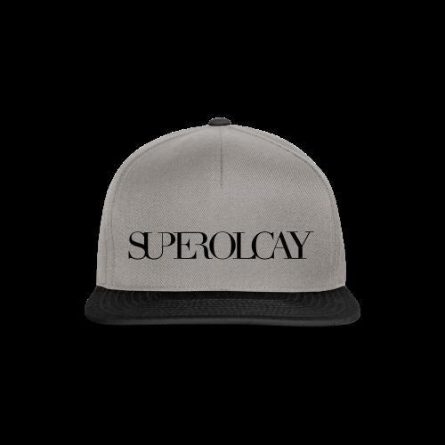 SUPER OLCAY - Snapback cap