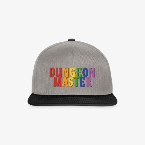 Dungeon Master Pride (Rainbow) - Snapback Cap