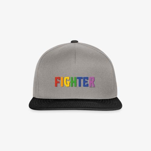 Fighter Pride (Rainbow) - Snapback Cap