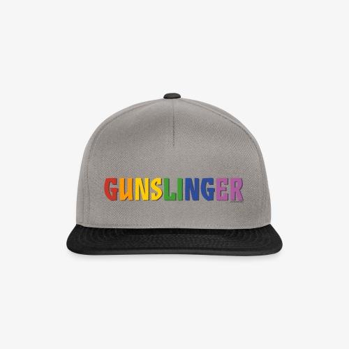 Gunslinger Pride (Rainbow) - Snapback Cap