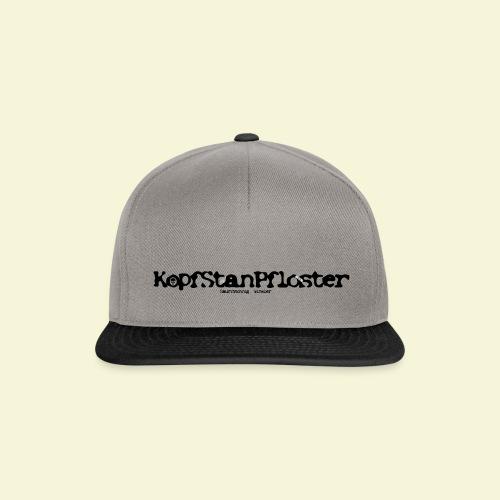 KopfStanPfloster Banner - Snapback Cap