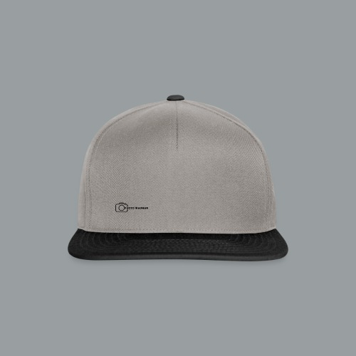 PHOTO WAUMAN Big Logo - Snapback cap