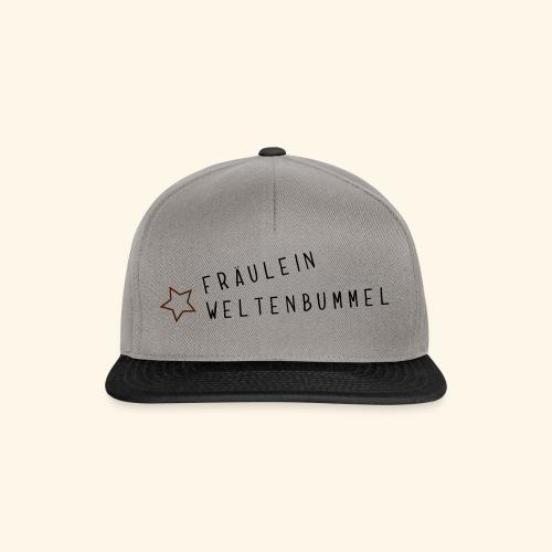 Fräulein Weltenbummel - Snapback Cap
