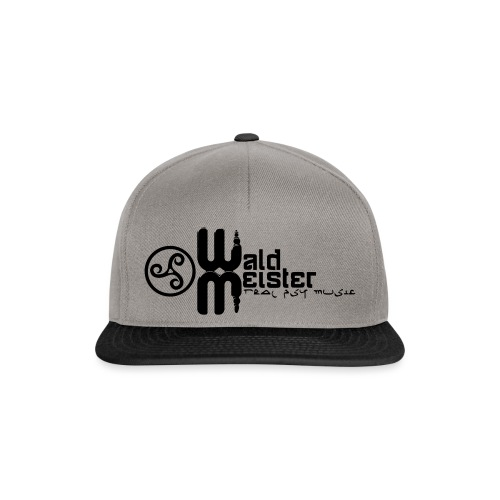 Waldmeister.ch real psy music - Snapback Cap