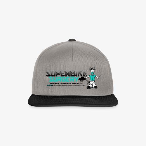 Original Superbike Surgery Logo - Snapback Cap