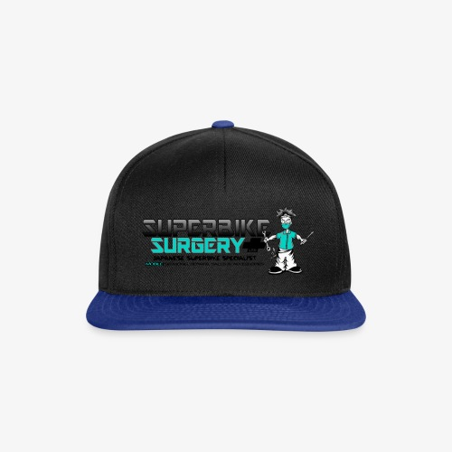 Original Superbike Surgery Logo - Snapback Cap