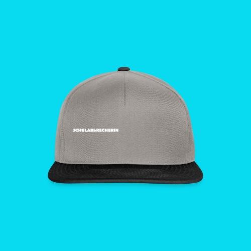 Schulabbrecherin - Snapback Cap