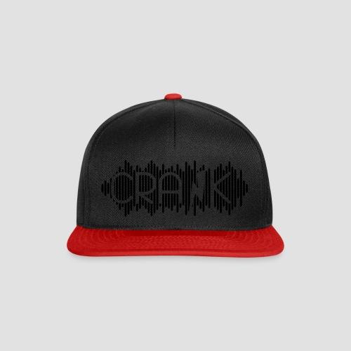 DJ Crank Logo Einfarbig - Snapback Cap