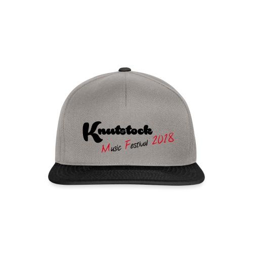 Knutstock MF Logo - Snapback Cap