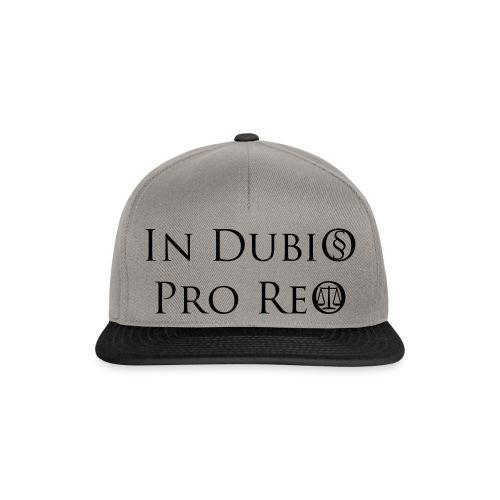 In Dubio pro Reo - Snapback Cap
