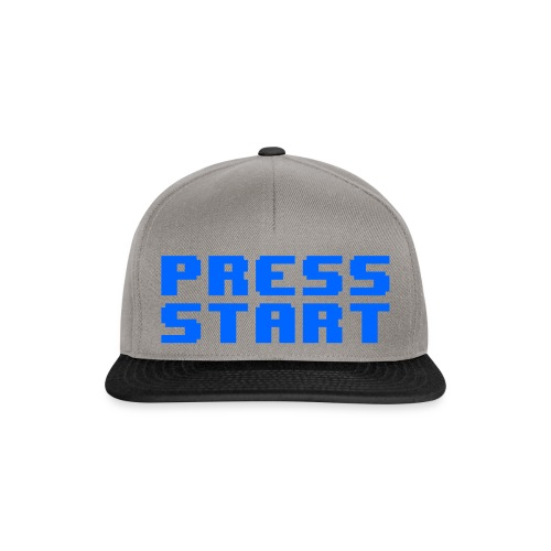 Press Start - Snapback Cap