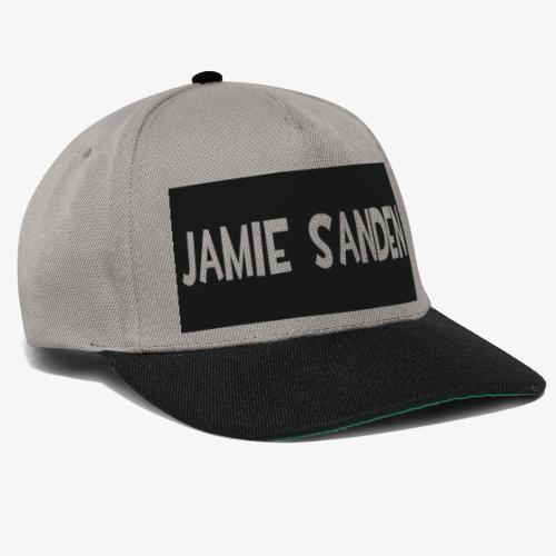 Jamie Sanden Text logo - Snapbackkeps