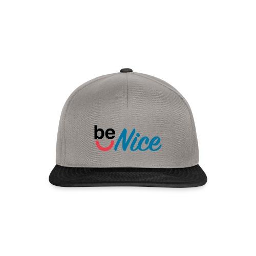 Be Nice - Snapback Cap