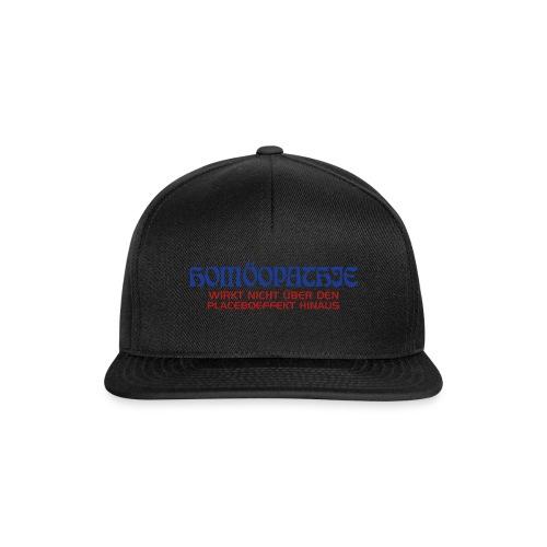 Homöopathe wirkt - Snapback Cap