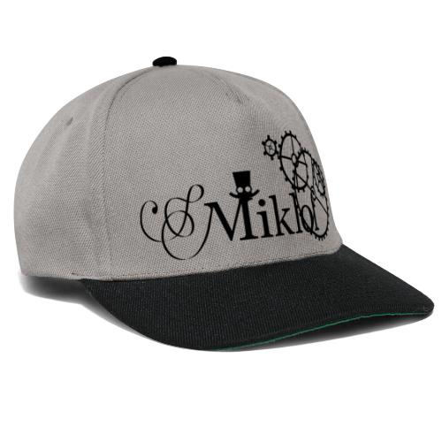 miklof logo black 3000px - Snapback Cap