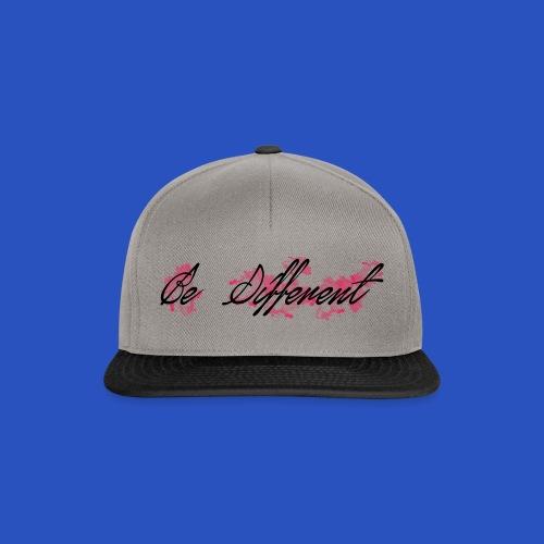 be_different - Snapback Cap