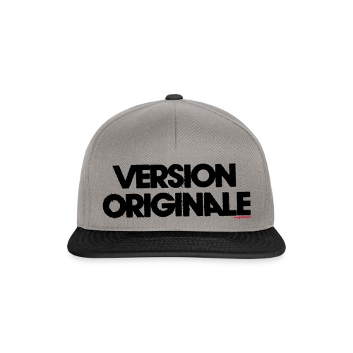Version Original - Casquette snapback