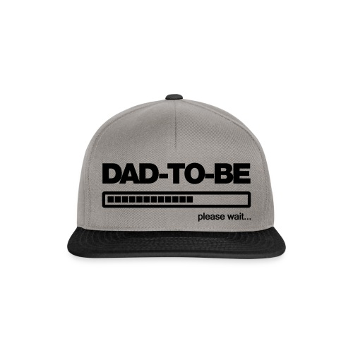 Dad-to-Be - Snapback Cap