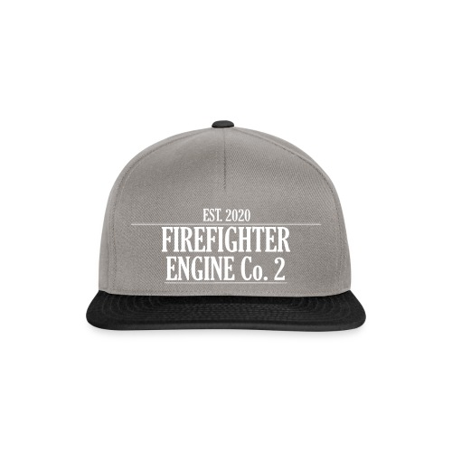 Firefighter ENGINE Co 2 - Snapback Cap