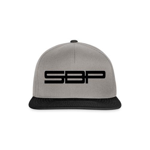 T-shirt white chest emblem black - Snapback Cap