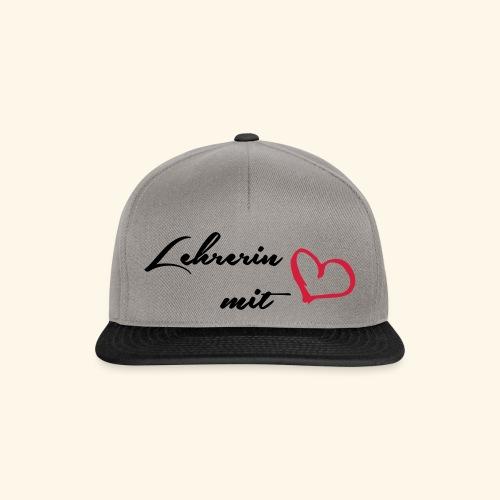 Lehrerin - Snapback Cap