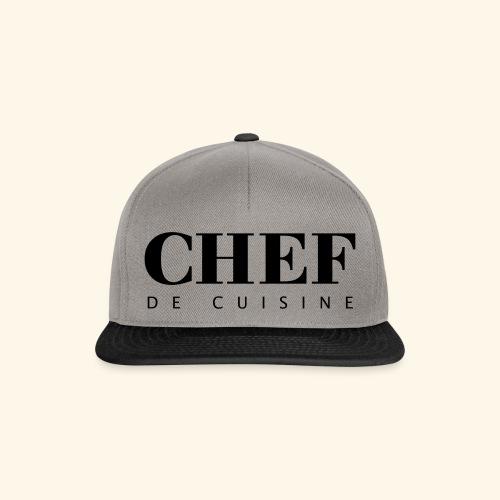 BOSS de cuisine - logotype - Snapback Cap