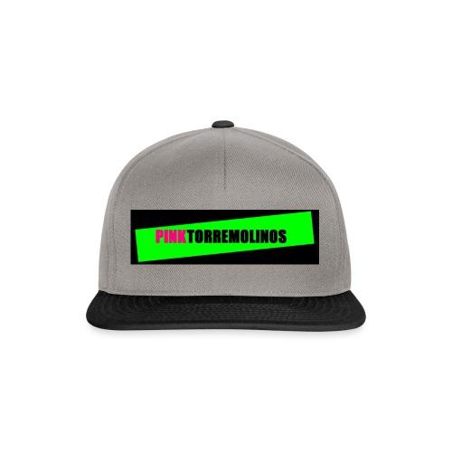 pinklogo - Snapback cap