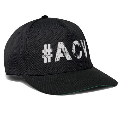 #ACV Logo grau - Snapback Cap