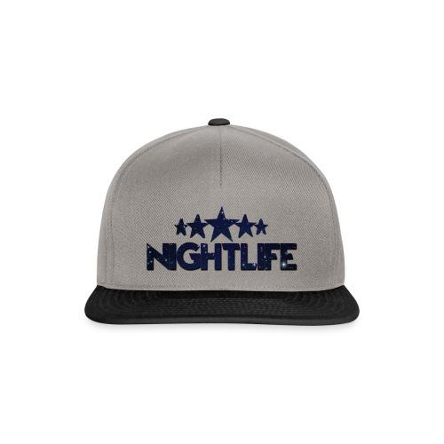 NIGHT LIFE - Snapback cap