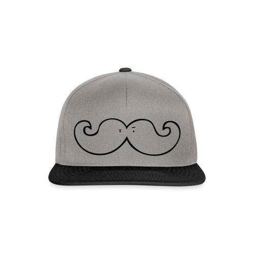 Mustache - Snapback Cap