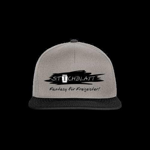 Stichblatt Fantasy für Freigeister! (schwarz) - Snapback Cap