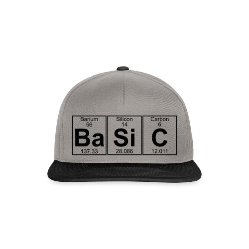 Ba-Si-C (basic) - Full - Snapback Cap