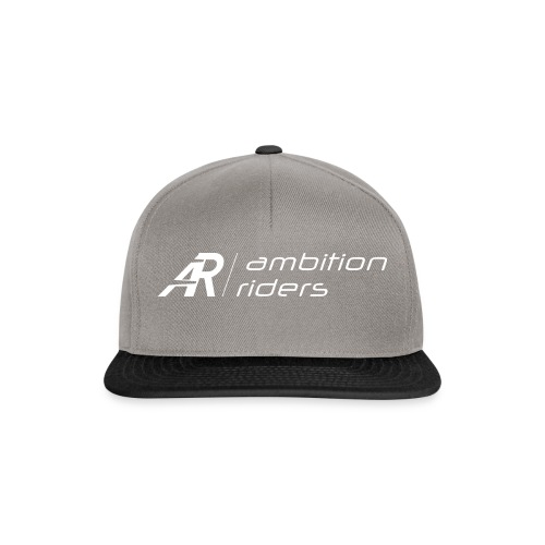 Ambition Riders white - Snapback Cap