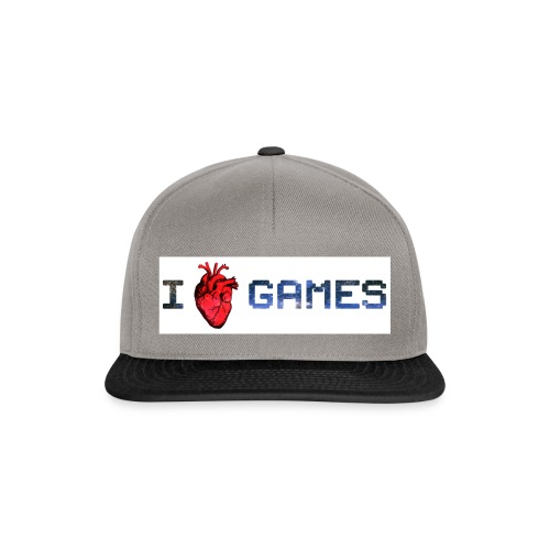 i_love_games-jpg - Snapback Cap