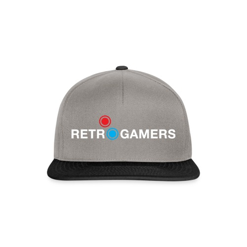 Logo Retrogamers Blanco - Gorra Snapback