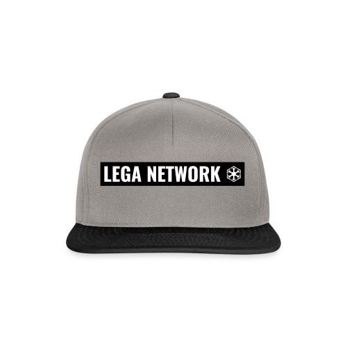Tazza Logo Lungo Nero - Snapback Cap