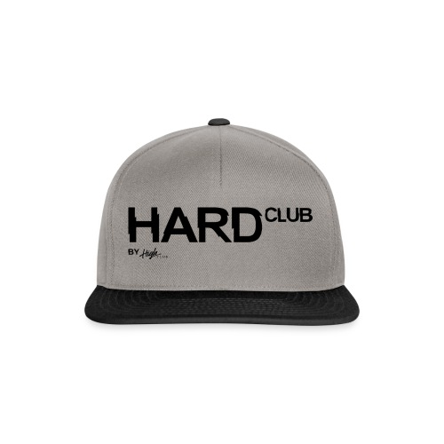 HardClub Black - Snapback Cap