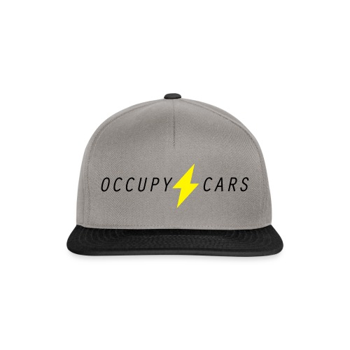 OCCUPY CARS logo - Snapback Cap