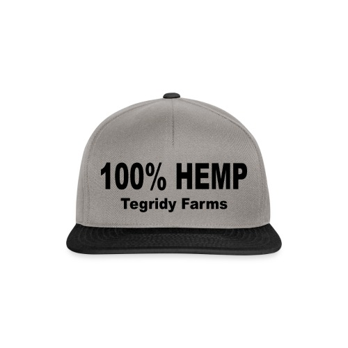 Tegridy Farms 100 % Hemp Parody T-Shirt - Snapback Cap