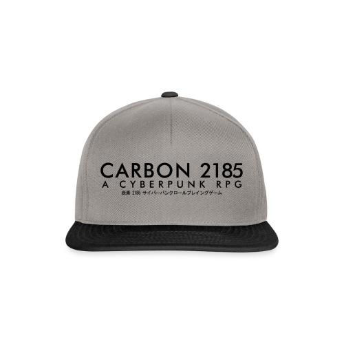 Carbon 2185 A Cyberpunk RPG Logo - Snapback Cap