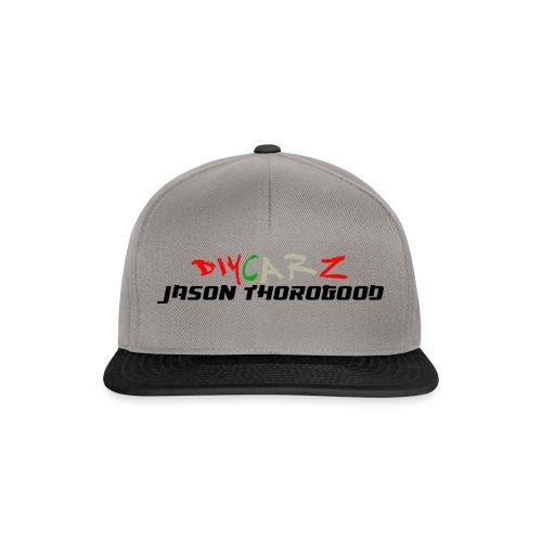DIYCARZ-JASON THOROGOOD BRAND MERCH - Snapback Cap