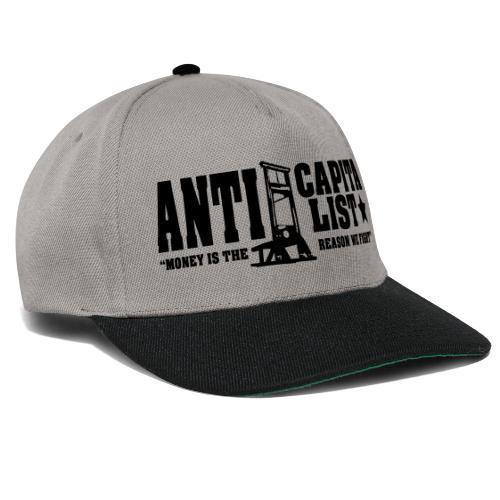Anticapitalist - Snapback Cap