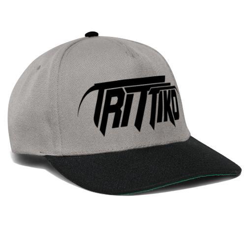 Trittiko Logo Schwarz - Snapback Cap