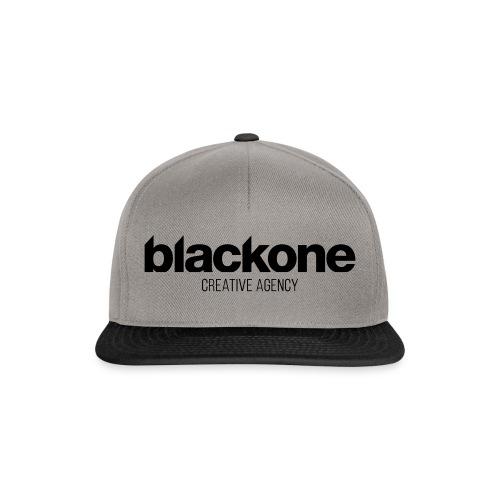 Camiseta negra blackone - Gorra Snapback