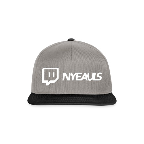 nyeauls twitch white png - Snapback cap