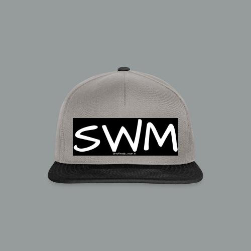 selfmade wear SWM schwarz - Snapback Cap
