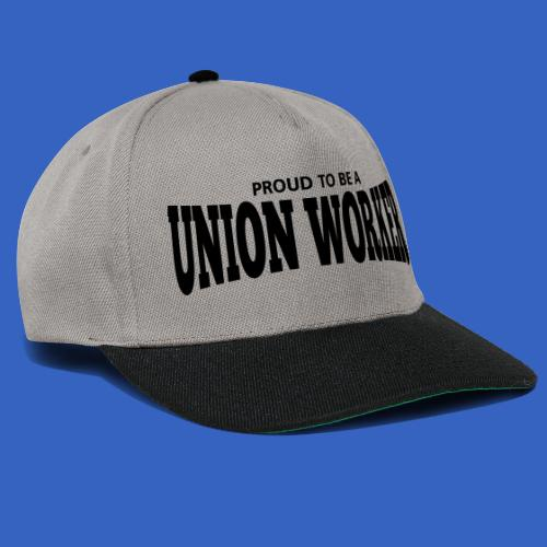 Union Worker - Snapback Cap