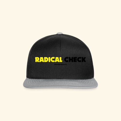 Radical Check - Snapback Cap