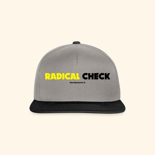 Radical Check - Snapback Cap