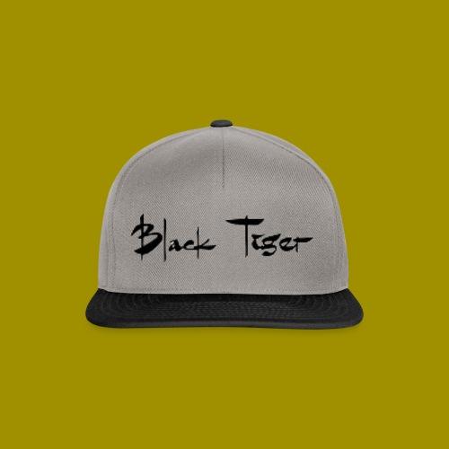 Black Tiger Name - Snapback Cap